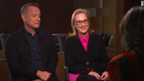 Tom Hanks and Meryl Streep speak to Amanpour