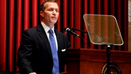 Amid scandal, Missouri governor quietly tries to stop the bleeding