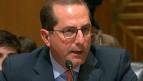 HHS nominee: Trump should keep word on Medicaid