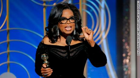 Oprah addresses running for president