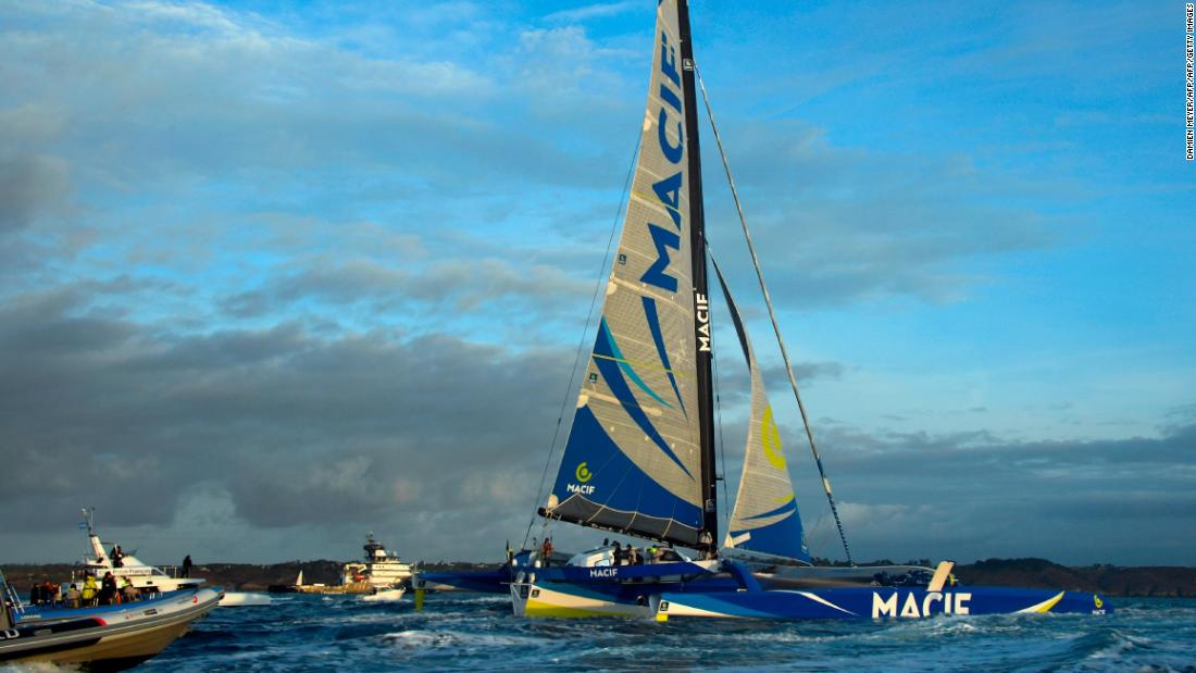 Technological advancements mean Gabart's record isn't likely to stand for long. His MACIF yacht, for example, had a bigger sail area and was wider than previous round the world trimarans.