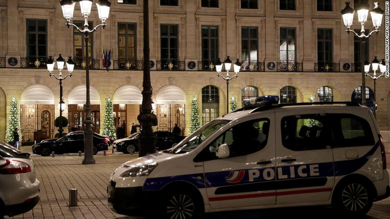 8bb368fac14 Thieves steal millions in jewels from Paris  Ritz Hotel - CNN