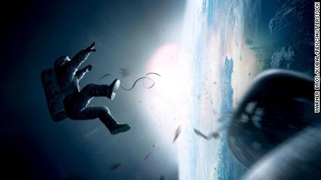 """Gravity"" (2013) was loosely based on a destructive orbital event known as the Kessler syndrome."