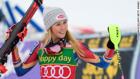Mikaela Shiffrin: I'm chasing the world