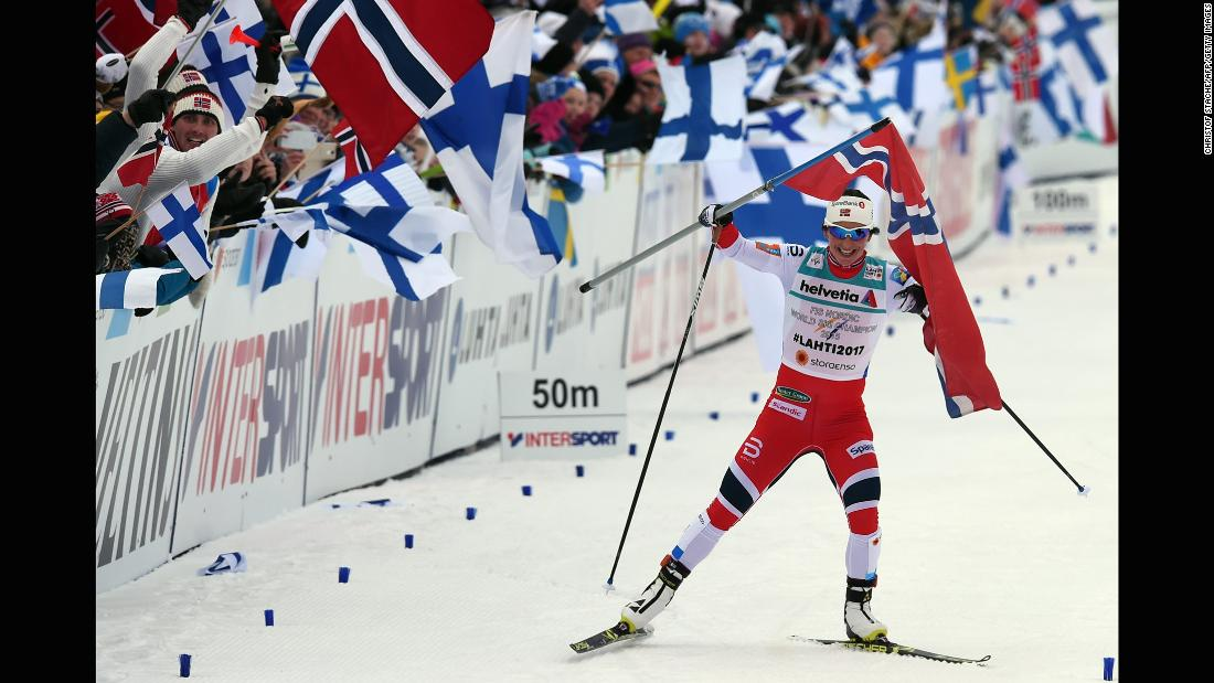 <strong>Marit Bjørgen (Norway):</strong> If she wins one medal in PyeongChang, Bjørgen will have more medals than any other woman in the history of the Winter Olympics. The cross-country skier, 37, has 10 medals right now, including six golds.