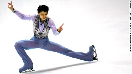Hanyu, skating to Prince in 2016, was out much of this season but will fight to defend his Olympic gold.