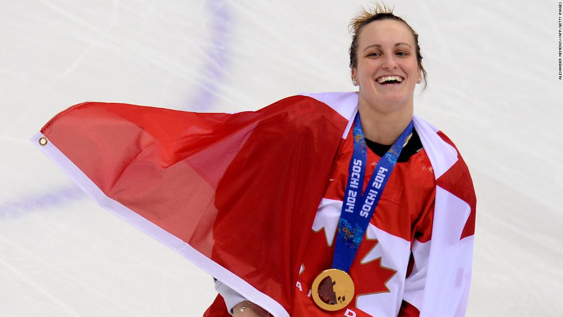 "<strong>Marie-Philip Poulin (Canada):</strong> Canada has defeated the United States in the last two Olympic finals, and both times it was Poulin <a href=""http://edition.cnn.com/2014/02/20/sport/sochi-olympics-day-13/index.html"" target=""_blank"">scoring the game-winning goal.</a> She is also the reigning MVP of the Canadian Women's Hockey League, which includes teams in Canada, China and the United States. She's been called the ""female Sidney Crosby,"" the best player in her sport, but Crosby and the world's best male players <a href=""http://money.cnn.com/2017/04/03/media/nhl-2018-winter-olympics/index.html"" target=""_blank"">won't be in PyeongChang</a> -- Poulin and the best female players will."