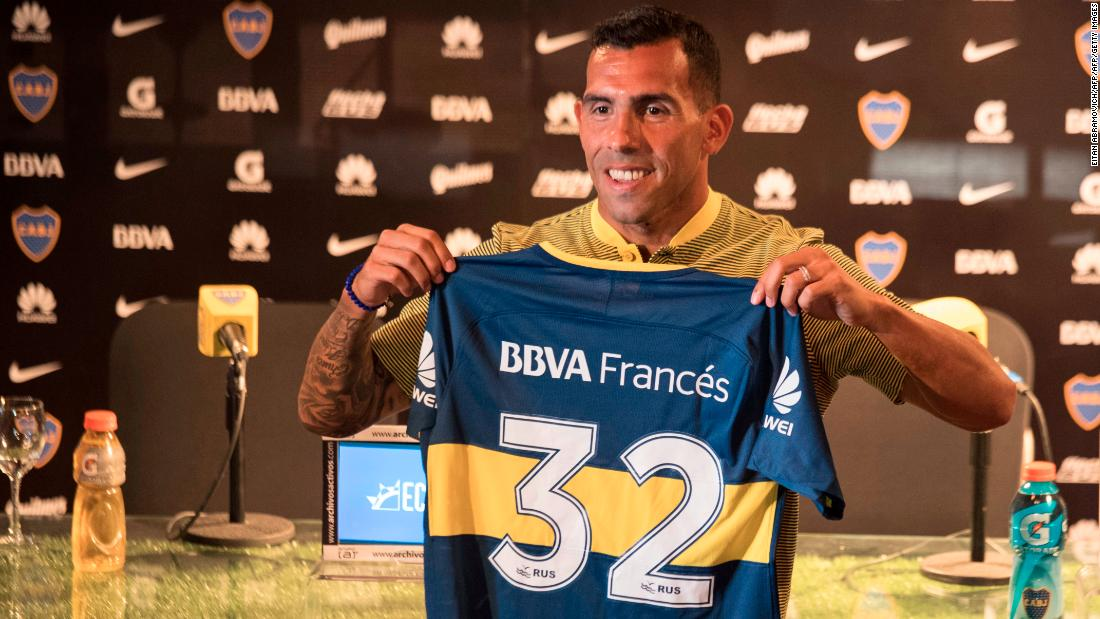 Carlos Tevez returned to boyhood club Boca Juniors from Chinese Super League side Shanghai Shenhua, where he was the highest paid player in the world  -- earning a reported $900,000 per week.