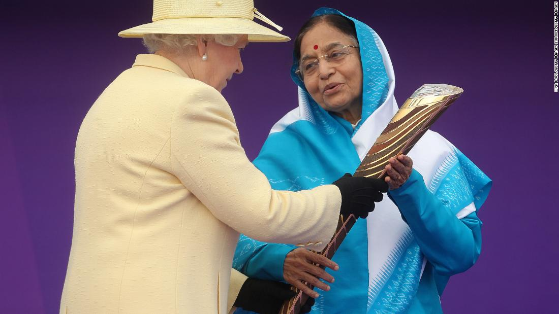She was absent from the Games in India in 2010 but again took part in the Queen's Baton Relay.