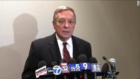 Dick Durbin admonishes Trump for 'shithole' comments