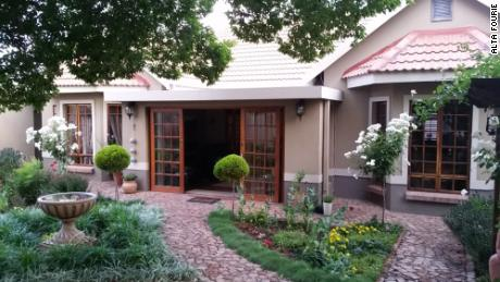 Alta Fourie shared this photo of her home in Bloemfontein, South Africa.