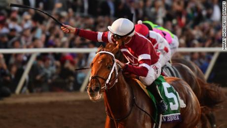 Gun Runner beat Collected to win the Breeders' Cup Classic in November.