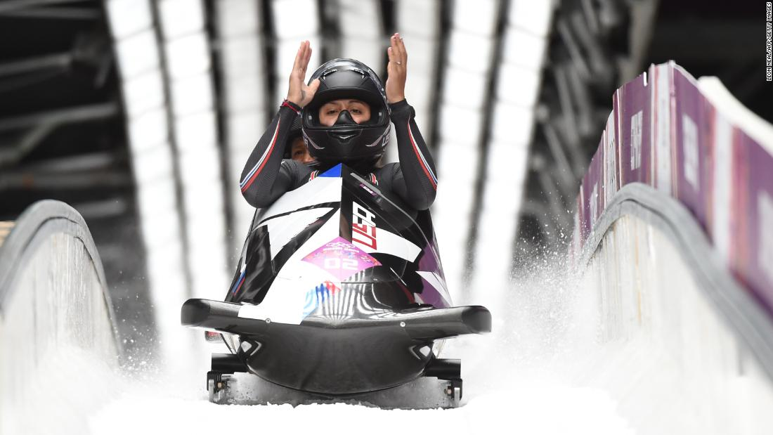 <strong>Elana Meyers Taylor (bobsled):</strong> Meyers Taylor won Olympic bronze in 2010 and silver in 2014. Will she continue trending up and bring home the gold? She finished first at the World Championships last year.