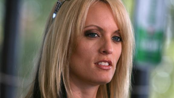 Adult-movie star Stormy Daniels stops at Rooster