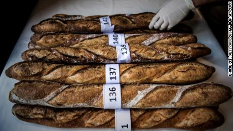 "The baguette is part of ""the daily life of the French,"" French President Emmanuel Macron says."