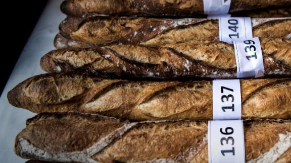 """The baguette is part of """"the daily life of the French,"""" French President Emmanuel Macron says."""