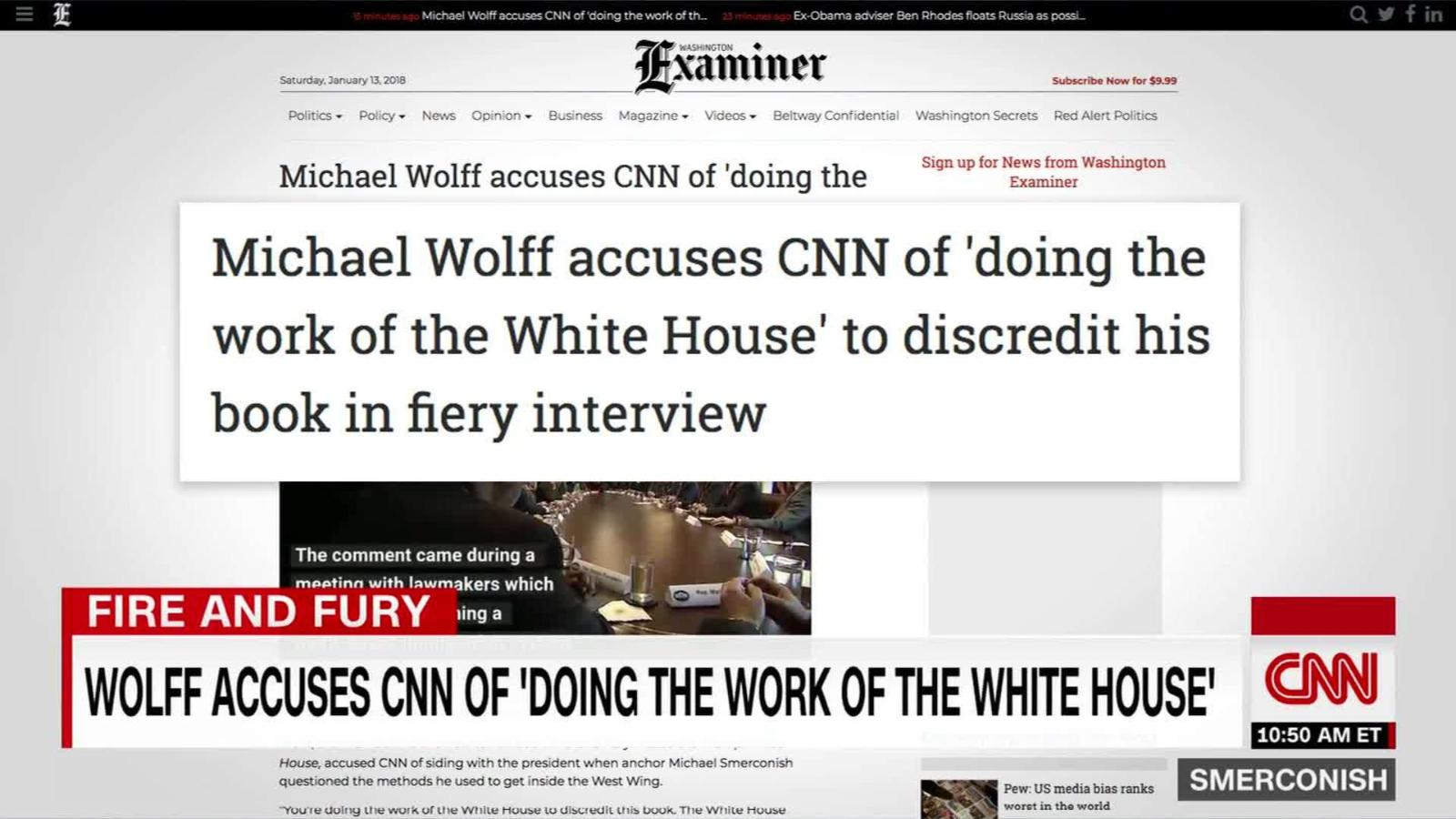 Smerconish On U0027doing Work Of The White Houseu0027   CNN Video