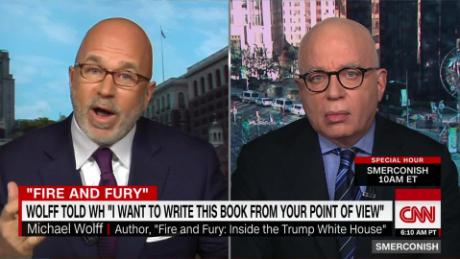 'Fire and Fury' author on how he got WH access_00054809