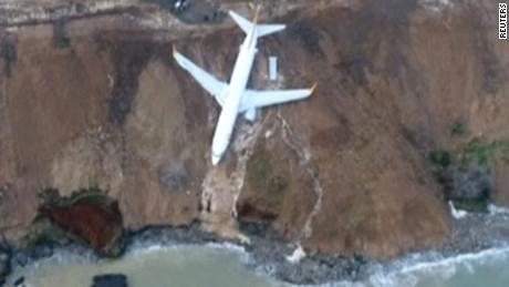 Turkey plane skids off runway newday_00000000