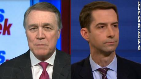 David Perdue Tom Cotton Jeff Flake conflicting Trump remarks nr_00000000.jpg