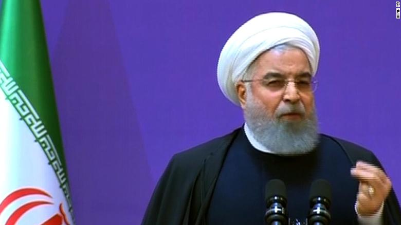 Rouhani: Trump failed to kill nuclear deal