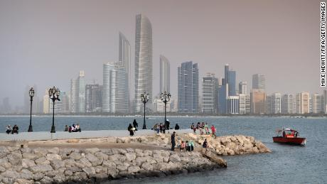 A member of Qatar's royal family says he is being held in Abu Dhabi,  shown in a file photo.