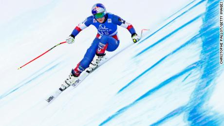 BAD KLEINKIRCHHEIM, AUSTRIA - JANUARY 12: Lindsey Vonn of USA in action during the Audi FIS Alpine Ski World Cup Women's Downhill Training on January 12, 2018 in Bad Kleinkirchheim, Austria. (Photo by Christophe Pallot/Agence Zoom/Getty Images)
