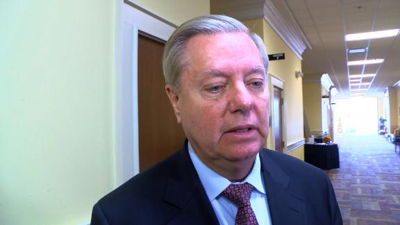 Lindsey Graham interview by CNN affiliate WIS following an MLK event in West Columbia, SC.  Sen. Lindsey Graham speaks at annual MLK breakfast in West Columbia, SC. He addressed the President