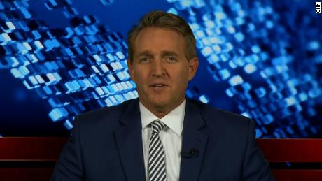 senator jeff flake trump stalin comment amanpour sot_00000000