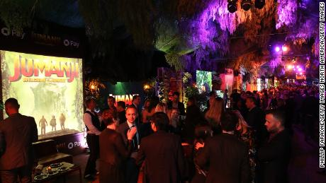 "HOLLYWOOD, CA - DECEMBER 11:  A general view of the atmosphere during the premiere of Columbia Pictures' ""Jumanji: Welcome To The Jungle"" - After Party on December 11, 2017 in Hollywood, California.  (Photo by Phillip Faraone/Getty Images)"