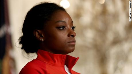 Simone Biles says she, too, was abused by former USA team doctor