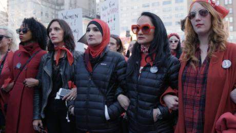 Women's March organizers face racial tensions within