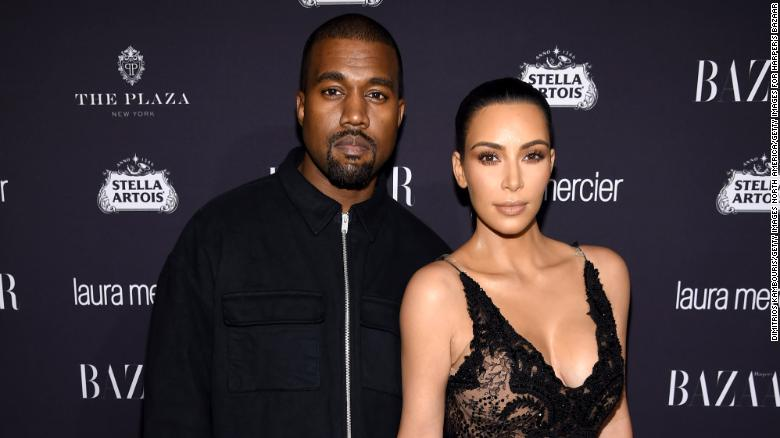 Kanye And Kim Name Their Third Child -- Chicago - Cnn-3428