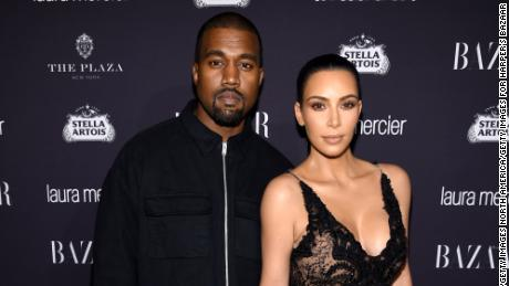 "NEW YORK, NY - SEPTEMBER 09: Kanye West and Kim Kardashian West attend Harper's Bazaar's celebration of ""ICONS By Carine Roitfeld"" presented by Infor, Laura Mercier, and Stella Artois  at The Plaza Hotel on September 9, 2016 in New York City.  (Photo by Dimitrios Kambouris/Getty Images for Harper's Bazaar)"