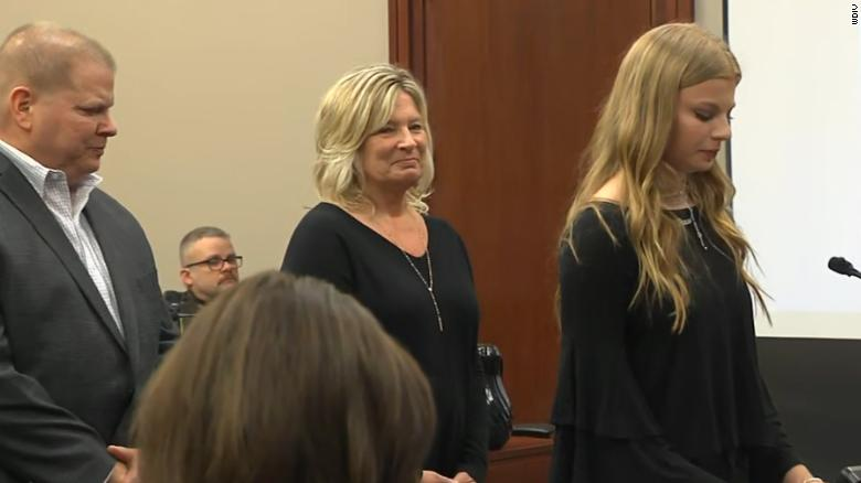 Survivors confront former gymnastics doctor