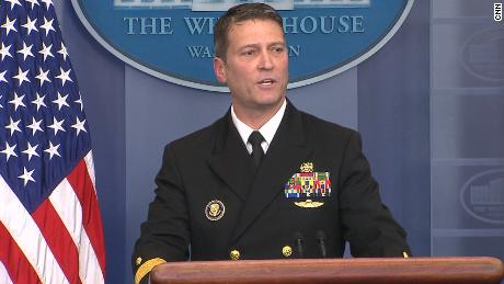 Who is Dr. Ronny Jackson, Trump's new pick to head the VA?