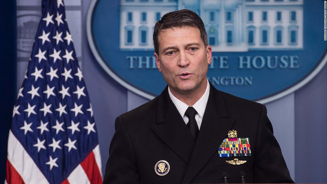 The Ronny Jackson debacle is entirely and completely predictable