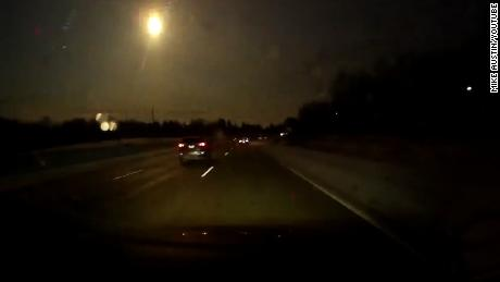 "The night sky lit up in Michigan on Tuesday.     Credit: Mike Austin/YouTube  https://www.youtube.com/watch?v=MvFcY9rTPx8  Location: Bloomfield Hills, MI    title: Michigan Meteor Jan 16 2018  duration: 00:00:10  site: Youtube  author: null  published: Tue Jan 16 2018 20:35:40 GMT-0500 (EST)  intervention: no  description: **Anyone can use this video with credit.  ""Russian"" dash cam for the win! No audio - Didn't hear any loud sounds - Timestamp is off - happened around 8:15PM EST - looked really close - I75 Northbound near Bloomfield Hills"