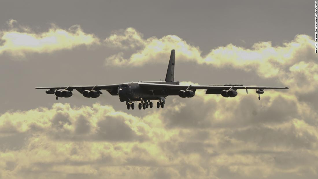 US flies B-52s near contested South China Sea islands