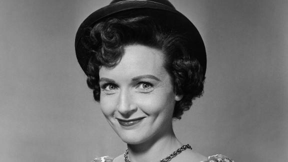 "White, seen here in 1954, was born in the Chicago suburb of Oak Park, Illinois, in 1922. She had roles on popular radio shows such as ""This Is Your FBI"" and ""The Great Gildersleeve"" before landing her first TV role as a co-host of ""Hollywood on Television"" in 1949."