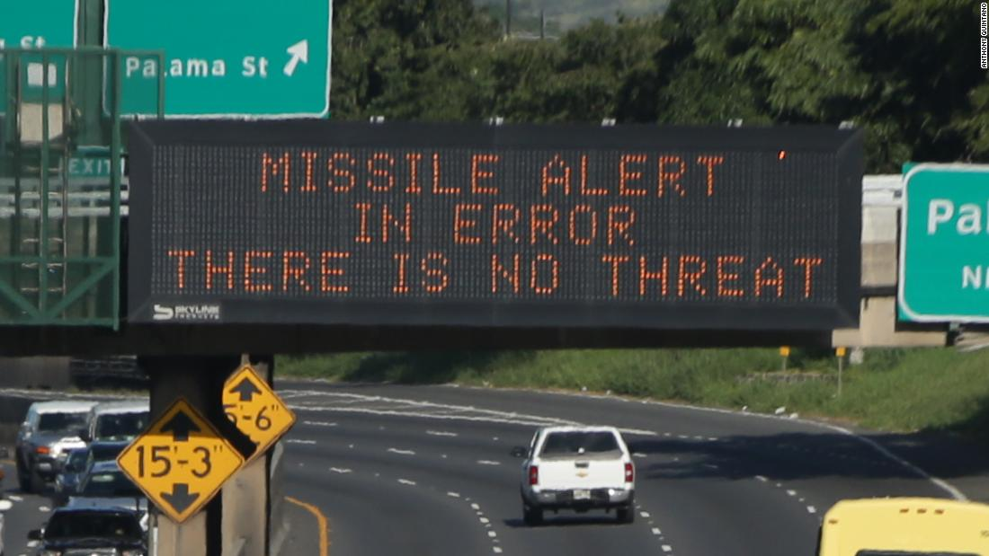 WaPo: Emails detail how senior US military officers dealt with Hawaii's false missile alert
