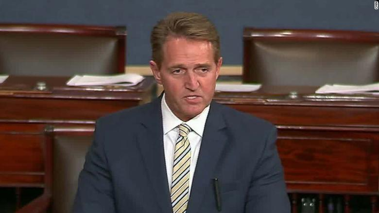 jeff flake senate floor stalin comparison sot_00010303