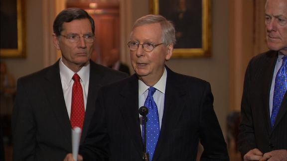 MCCONNELL:WANT IMMIGRATION BILL TRUMP SUPPORTS -