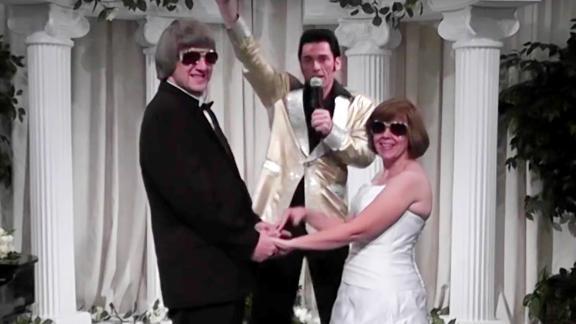 Turpin wedding video screengrab.