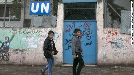 US UN Agency for Palestinian Refugees to End [19659013] US ends all funding for the UN Agency for Palestinian Refugees