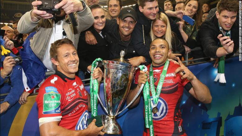 Rugby Club Toulonnais and Bryan Habana