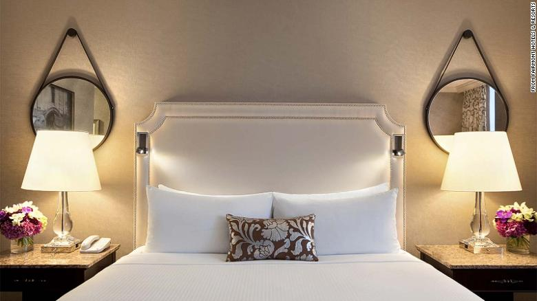 Designed with frequent travelers in mind, the standard beds found in most Fairmont hotel rooms provide therapeutic core support, reinforced gel memory foam, cooling technology, and a plush pillowtop.