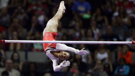 "2012 Olympic all-around champion Gabby Douglas said she was also abused by Nassar. ""I didn"