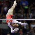 Gabby Douglas action