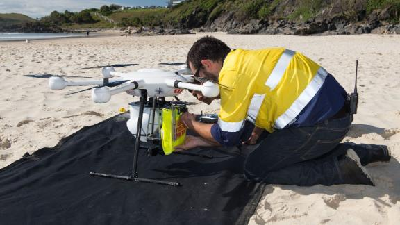 In January 2018 in New South Wales, Australia, the Little Ripper UAV proved vital in rescuing two men caught in rough surf. Lifeguards used the drone to drop an inflatable life preserver in minutes, which the swimmers clung on to to make it to shore. Read more.
